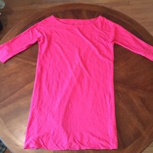 Lily Pulitzer Pink Cotton Top 🌺